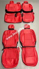 Katzkin Salsa Leather Seat Covers w/ Hexagon Stitch For 2020 2021 Jeep Gladiator