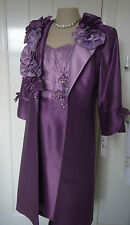 LIBRA Lilac/Purple Mother of Bride Wedding Outfit  size UK 12 £380 NEW UNWORN