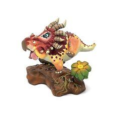 Triceratops Dinosaurs Resin Figure Roaming Statue Designer Keep Originality