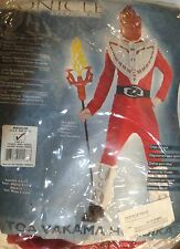 BIONICLE HALLOWEEN COSTUME SIZE MEDIUM 8-10 NEW BUT MISSING MASK