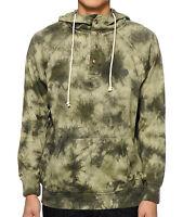 VOLCOM WASHED PULLI Pullover Fleece Hoodie Zip-Up Sweatshirt Green Mens NWT