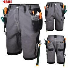 Summer Mens Multi Tool Pocket Heavy Duty Cargo Work Shorts Combat Trousers NEW