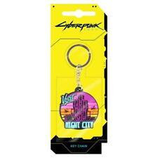 Cyberpunk 2077 Visit Night City PVC Keychain Multicolor (us Import)
