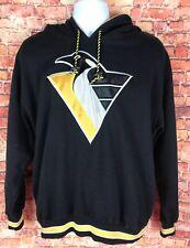 Vintage Pittsburgh Penguins Starter Hoodie Sweatshirt Mens M Throwback 90s