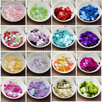 150Pcs DIY Round Sequins Paillettes Loose 10mm Wedding Craft Sewing for Clothing