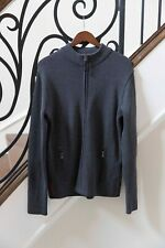 Prada Men's Cardigan Sweatshirt Sweater Top Size 56 XL L