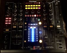 Pioneer DJM-2000 Mixer Used   Black   Brand New Crossfader and Channel Fader!