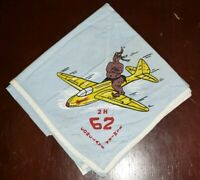 Boy Scout OA Area 2-H II-H 1962 Conclave Neckerchief