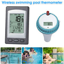 More details for wireless digital floating swimming pool thermometer bath temperature remote