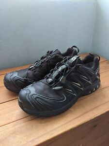 Mens Salomon XA Pro 3D GORETEX Trail Running Shoes, Size 11, Black