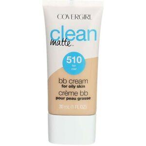 Covergirl Clean Matte bb Cream for Oily Skin 1 oz 510 Fair 1179