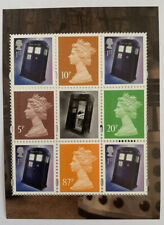 GB Stamps 50 Years of Dr Who  Booklet Pane