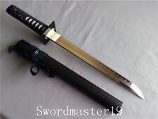 "9"" Handmade Sho Kosugi T10 Razor Sharp Combat Japanese Ninja Tanto Real Hamon"
