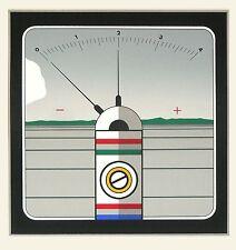 """Nöfer, Werner """"Horizont"""", 1973 Farbserigrafie, Probedruck unsigniert"""