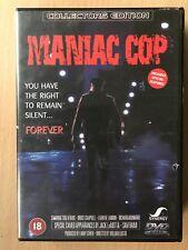 Bruce Campbell MANIAC COP ~ 1988 Cult Zombie Cop Horror Classic | UK DVD