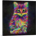 ARTCANVAS Cute Kitten Cat Canvas Art Print
