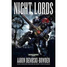 Night Lords by Aaron Dembski-Bowden (Paperback, 2014)