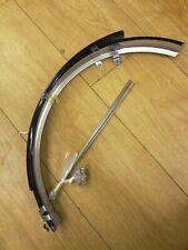 folding bike mudguard set plastic 20 inch wheel black