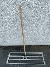 More details for lawn leveller / lute - 100cm x 32cm with 1.2m handle - free p+p!