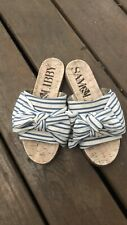 Sam & Libby Bow Slides Sandals 6.5