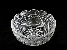 Waterford Crystal Scalloped Rim Apprentice Bowl