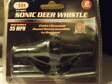 2pc Sonic Deer Whistle_Get Out The Way! Humane_Effective_Property Protection!
