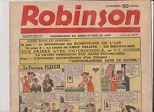 ROBINSON n°16 du 16 août 1936. Mandrake, Guy l'Eclair...