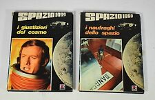 """2 volumi illustrati """" Spazio1999 """" TV I Giustizieri e I Naufraghi 1976 AMZ -0CH"""