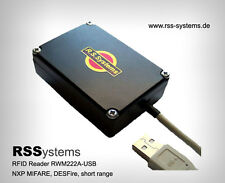 RFID READER/WRITER, 13,56MHz(for MIF. tags) USBpw + 3TAGS, SHORT-RANGE RW