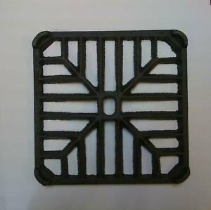 """6"""" SQUARE Cast Iron Gully Grid Driveway Drain Cover"""