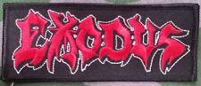 EXODUS embroidered patch slayer forbidden testament