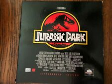 JURASSIC PARK Laserdisc LD  MCATHX Letterboxed Edition 1993 Steven Spielberg