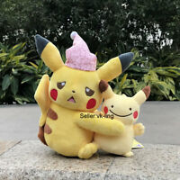2X Pokemon Go Plush Toy Pikachu And Friends Ditto Metamorph Stuffed Animal Doll