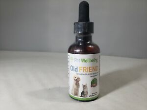 Pet Wellbeing Old Friend Optimal Health Dietary Supplement - 2 oz exp 09/24