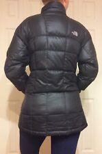 Women's North Face Black Warm Winter Down Puffer Jacket Sz Medium 600 Fill Power