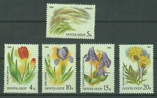 Russia Stamps 1986 Flora of Russian Steppes complete set MNH