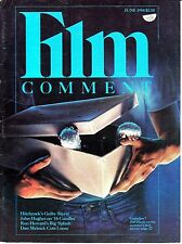 Film Comment June 1984 Alfred Hitchcock Wim Wnders Doctor Who Joe Dante