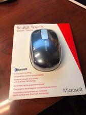 NEW Microsoft Bluetooth Sculpt Touch Mouse, 1000 dpi, 3 Buttons #6PL-00004