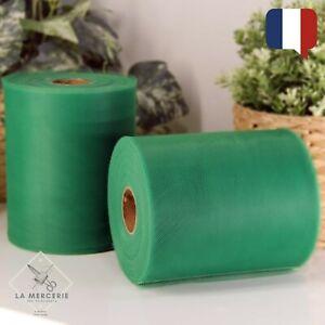 Rouleau Tulle Vert sapin 15cmx90m qualité supérieure polyester tutu Mariage