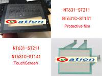 for Omron NT631C-ST141/ST141B-V2/EV2/EKV1Touch Screen Glass + Protective film