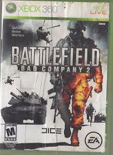 Battlefield: Bad Company 2 --  (Microsoft Xbox 360, 2010)