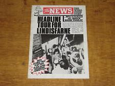 LINDISFARNE - 1979 OFFICIAL TOUR PROGRAMME   (PROMO) -
