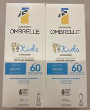 Garnier Ombrelle Kids SPF 60 Sunscreen With Mexoryl (2 X 200ml)