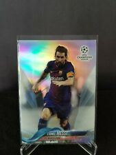 2017-18 Topps Chrome UEFA Champions League REFRACTOR #1 Lionel Messi Barcelona
