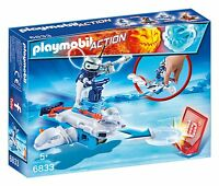 Playmobil 6833 Icebot Con Tirador Disco Action