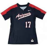 New Nike Women's M Arizona Wildcats Softball Digital Vapor Pro Jersey #17 881246