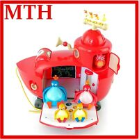 TWIRLYWOOS BIG RED ACTIVITY BOAT PLAYSET WITH SOUNDS LIGHT UP SET COMPLETE VGC