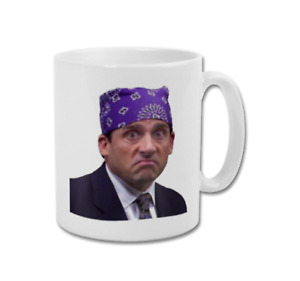 PRISON MIKE Michael Scott The Office US TV Show Funny Coffee Tea Mug Cup White