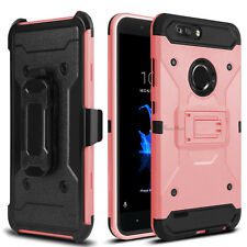 Hybrid Clip Holster Stand Hard Phone Case Cover For ZTE Blade Z Max / Zmax Pro 2