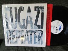 FUGAZI REPEATER DISCHORD LP Vinyl Record w/shrink discord RE RP version 8 rare!!